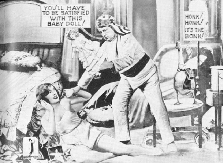 Иллюстрация в газете к скандальному *разводу* Эдварда и Пичес Браунинг.