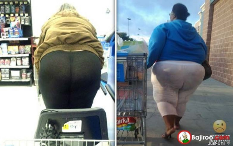 funny-fat-lady-with-yoga-pants-image