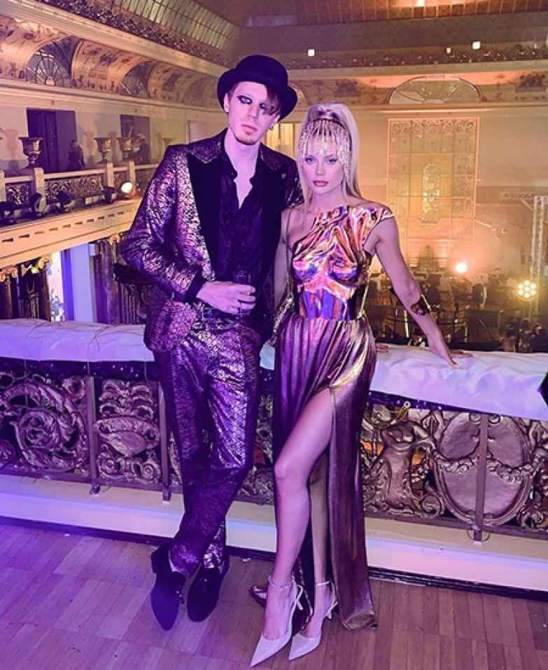 Никита Пресняков с женой Аленой
