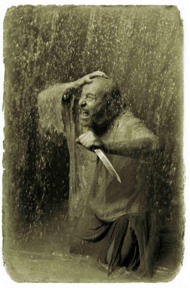 Левий. «Мастер и Маргарита». Фотоиллюстрации Елены Мартынюк.