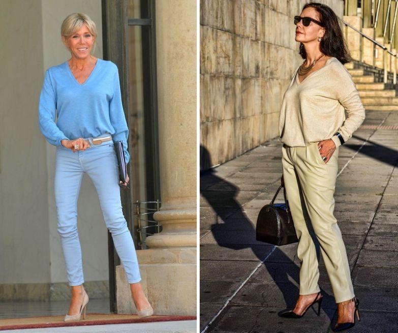 стильная одежда для женщин за 50 лет