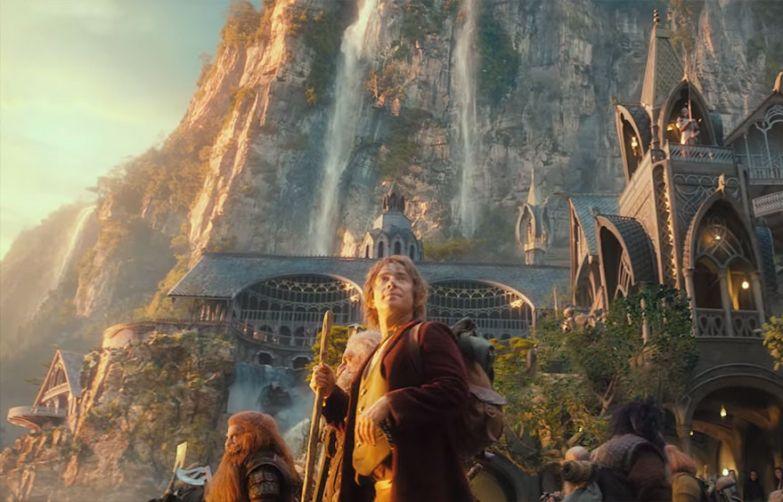 Хоббит: Нежданное путешествие голливуд, кино, спецэффекты, фильмы