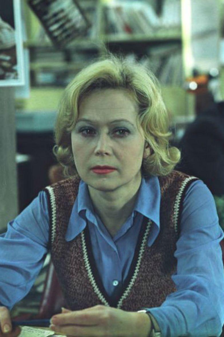 Актриса прославилась благодаря ролям, сыгранным в фильмах Рязанова