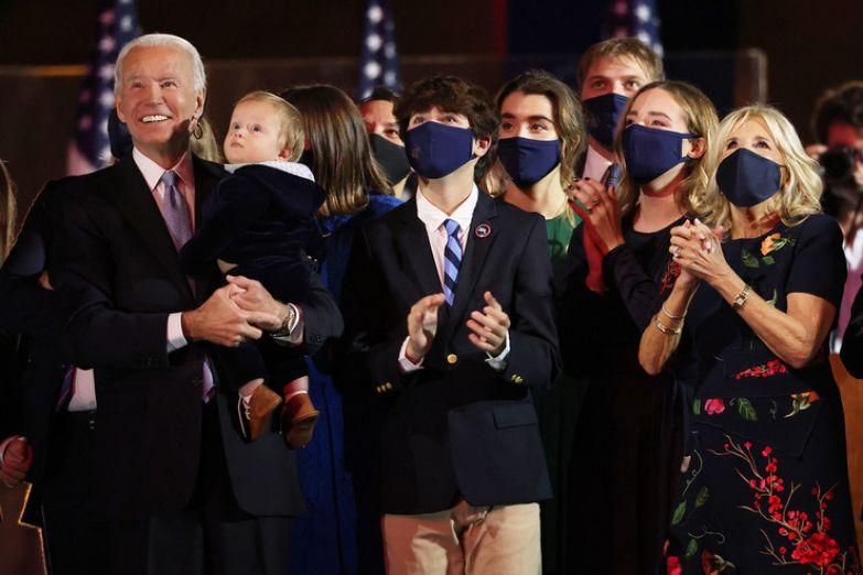 Президент всегда гордился своей крепкой семьей