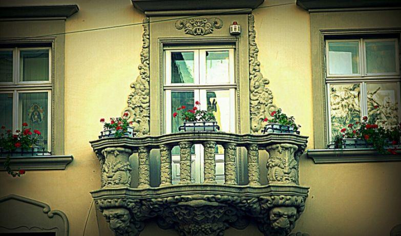 Балкон влюбленных. Львов.
