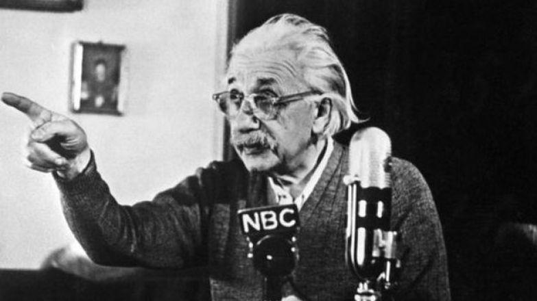 Эйнштейн в Принстоне (14 февраля 1950)