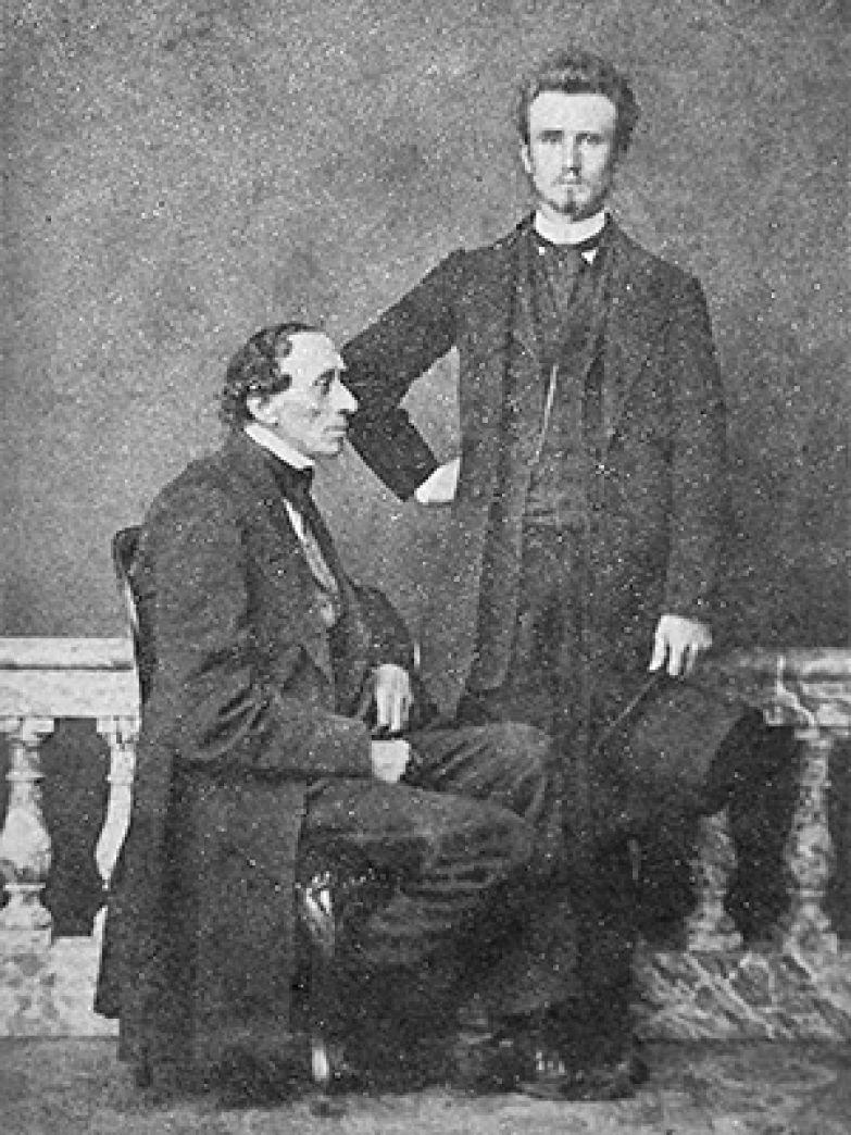 Андерсен и Эдвард Коллин