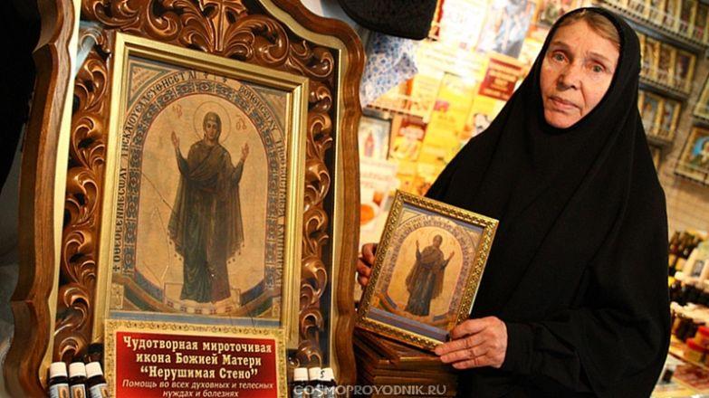 Молитвы перед иконой Богоматери «Нерушимая стена»