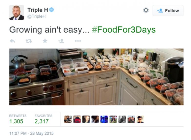 18. Диета рестлера Triple H люди, мир, фотоподборка