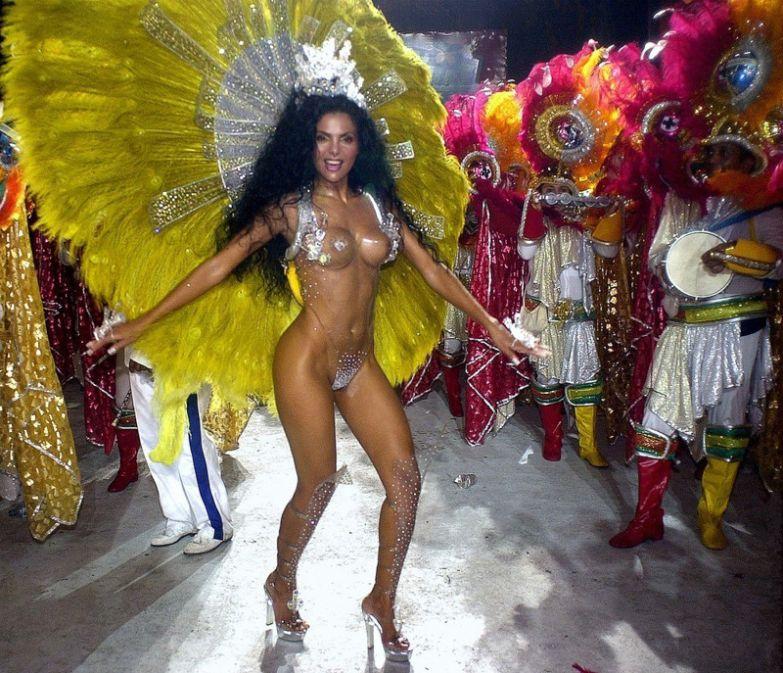 Самые сексуальные девушки карнавала в рио