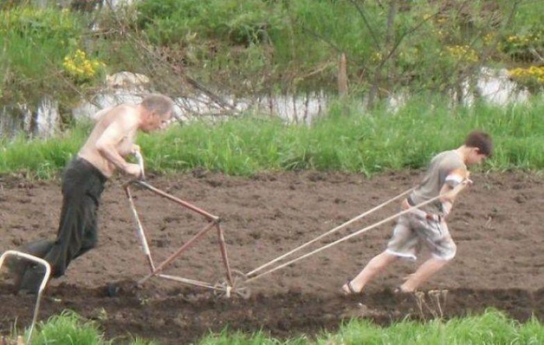 6. Расскажите этому мальчику, как вам трудно сдавать летнюю сессию дача, дачники, огородники, прикол, фото