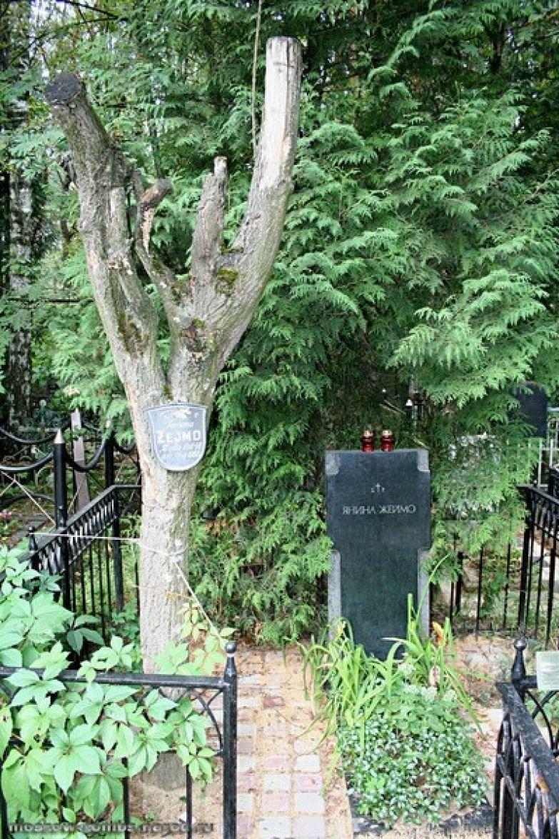 Янину Жеймо похоронили в России