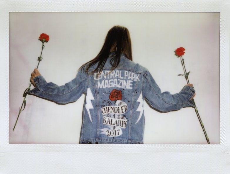 Кастомизированная куртка Trucker Jacket от Levi's (на вечеринке бренда в Берлине)