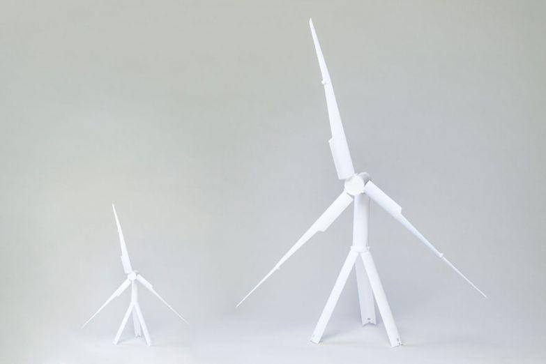 Самая маленькая и самая большая ветроустановка «Trinity»