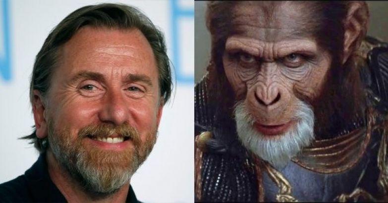 "Тим Рот - генерал Тейд (""Планета обезьян"") актеры, голливуд, грим, невероятно, роли"
