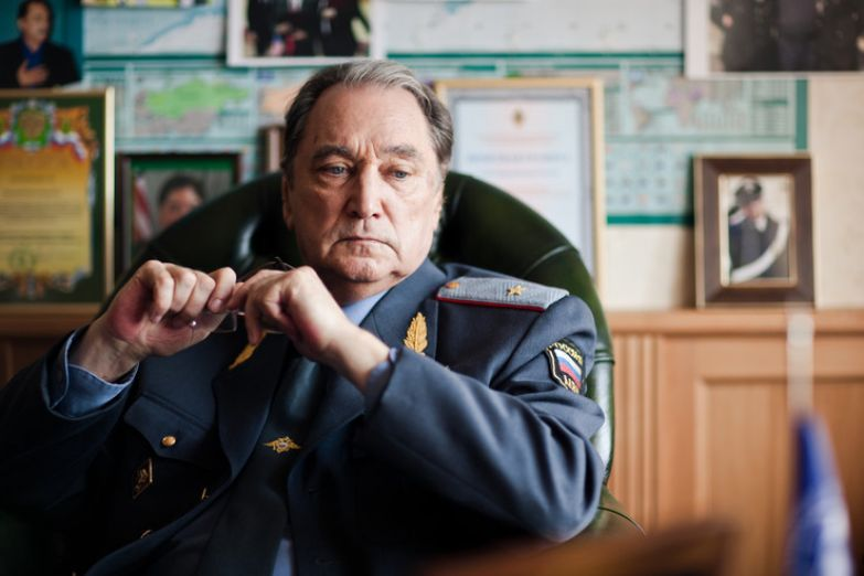 Артист в образе Владимира Асеева в «Методе Лавровой»