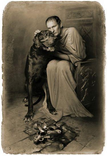 Пилат. «Мастер и Маргарита». Фотоиллюстрации Елены Мартынюк.