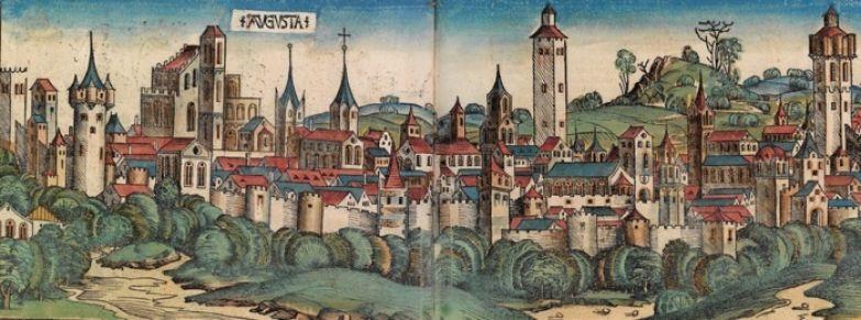 Аугсбург в XV веке