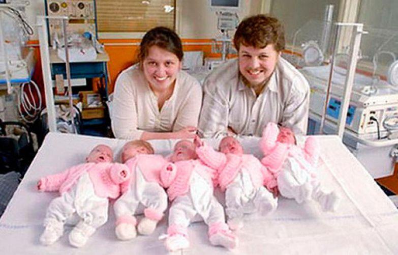 Гиллермина Гарсия и ее муж Фернандо дети, искусственное оплодотворение, мамы, многоплодная беременность