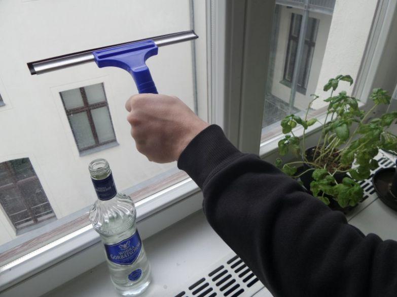 вымыть стекла