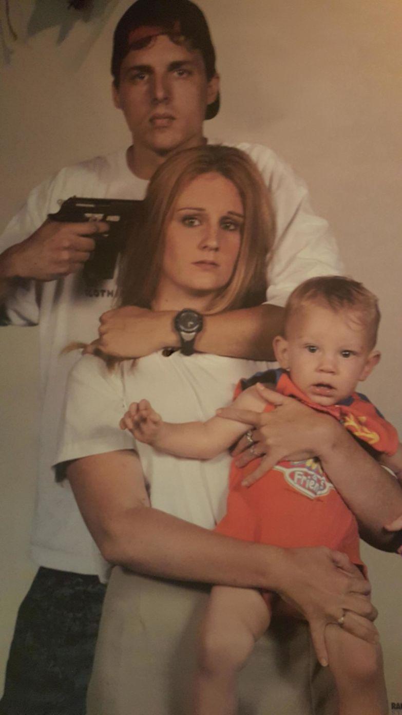 2. Милая любящая семья. Семейные фото, идиоты, прикол, ужас, юмор