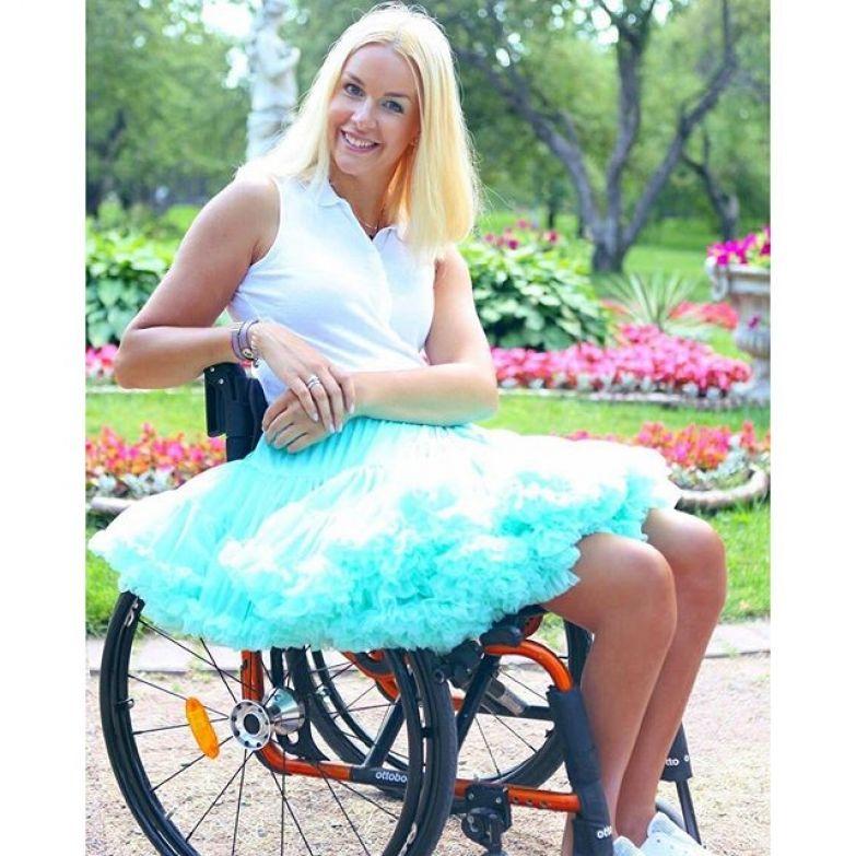 3. Евгения Воскобойникова инвалидность, красота, мужество