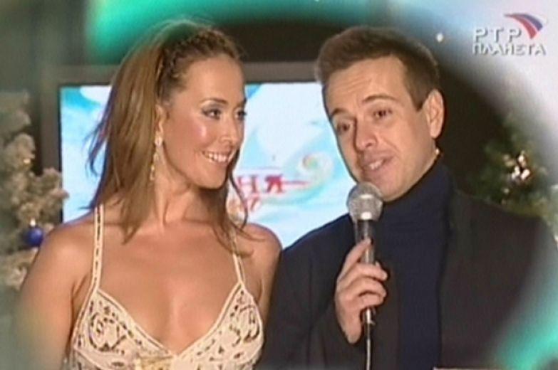 Жанна Фриске и Андрей Губин