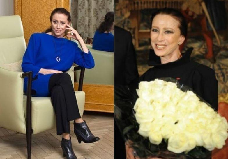 Даже после 80 балерина великолепно выглядела. 2010 и 2011 гг. | Фото: fw-daily.com