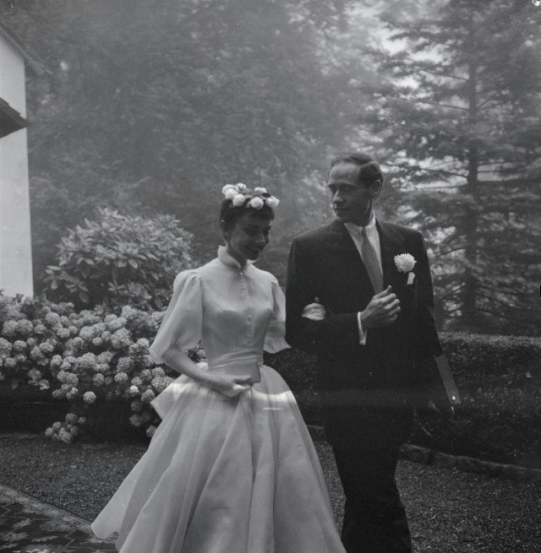 Одри Хепбёрн и Мел Феррер. / Фото: www.nevsedoma.com.ua
