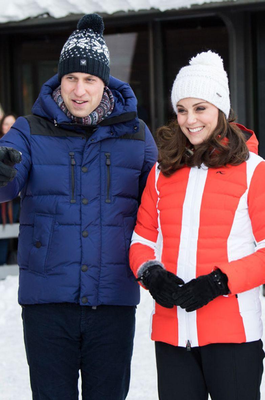 Кейт Миддлтон и принц Уильям, 2018