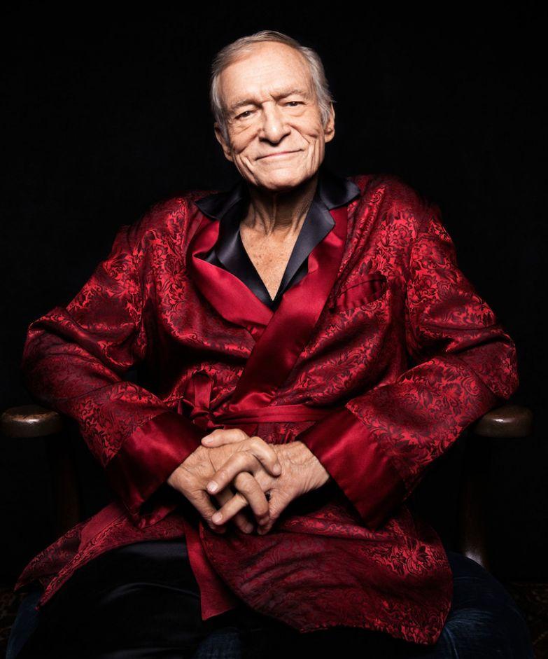 """2. Хью Марстон Хефнер — 90-летний основатель журнала """"Playboy"""". По слухам, он переспал практически с каждой моделью, которая снималась для издания, только вообразите, как много женщин мелькало на глянцевых страницах любовники, романы знаменитостей"""