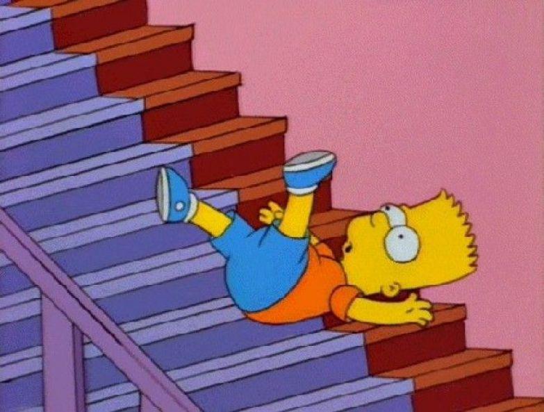 Картинки по запросу падать с лестницы