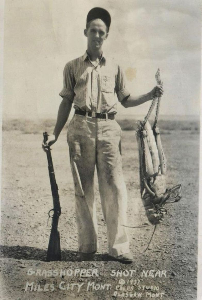 1937 год. Удивительный трофей охота, прикол, юмор