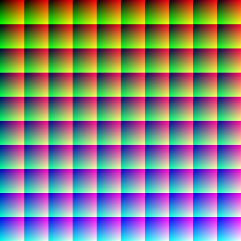 21. Так выглядит миллион цветов в одной картинке (каждый пиксель отличается по цвету): интересные фото, удивительное рядом, факты