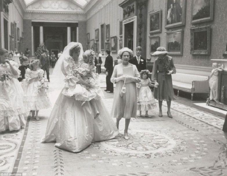 Свадьба принцессы Дианы и принца Чарльза, 1981 год.