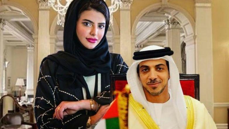 Принцесса Манал и шейх Мансур бен Зайеда Аль Нахайян