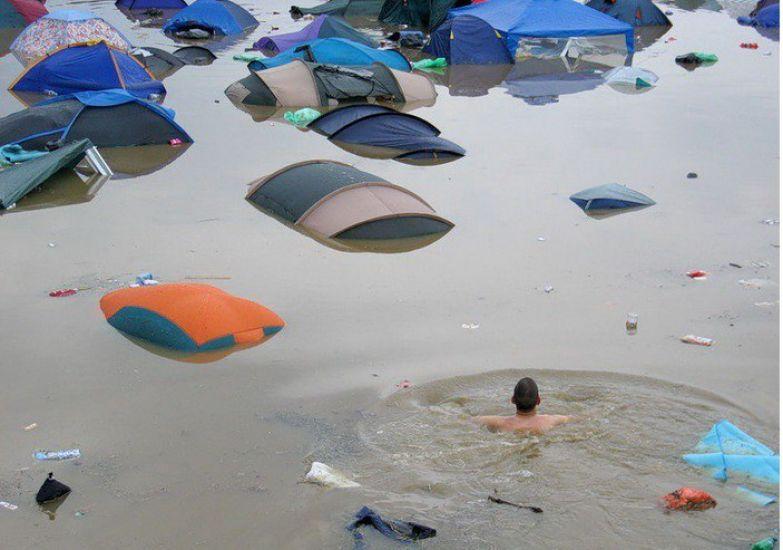 Не ставьте палатки в реке поход, прикол, туризм, юмор