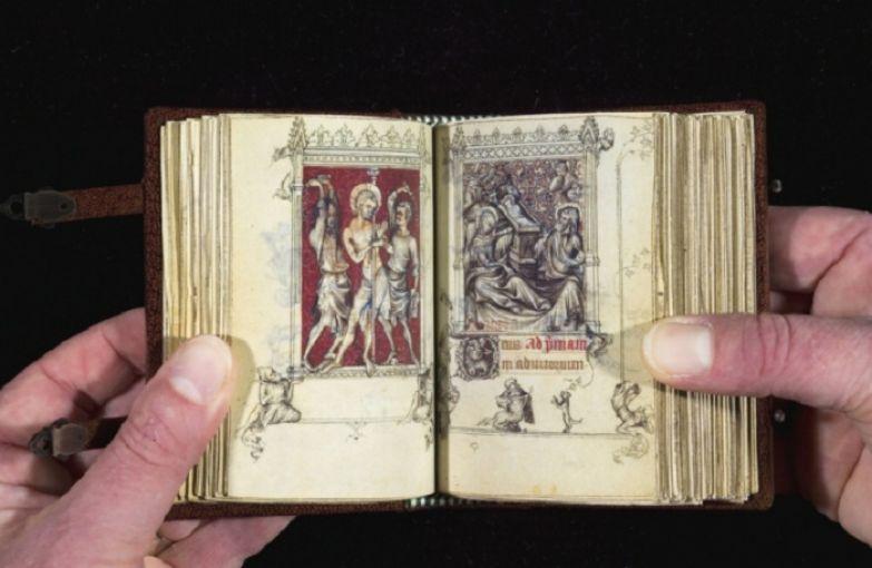 Часослов Жанны д'Эвре - королевы Франции в XIV веке. | Фото: medievalfragments.wordpress.com.