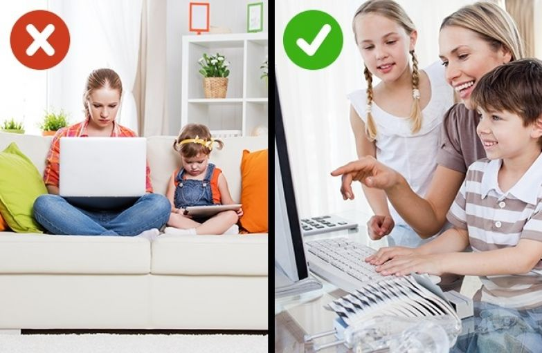 8 способов вырастить детей, которые будут независимы от гаджетов