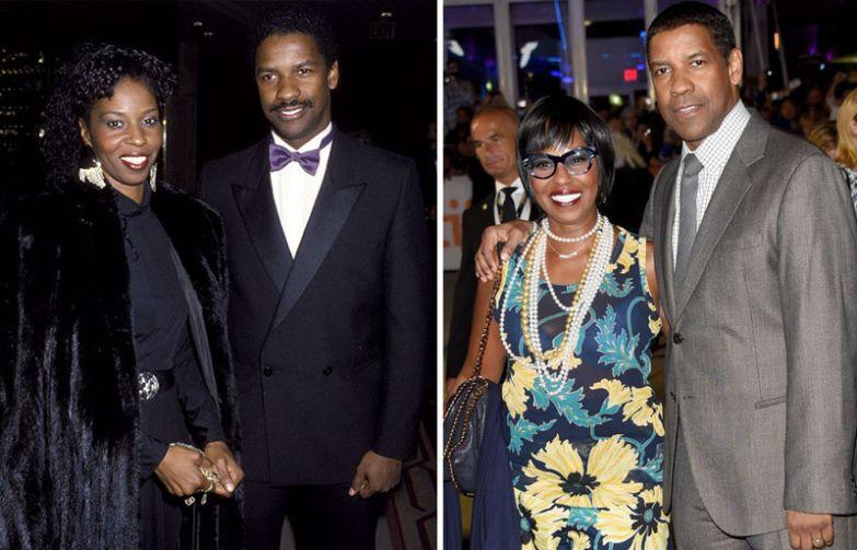 Дензел Вашингтон и Полетта Вашингтон - 39 лет вместе голливуд, звезды, любовь, свадьбы, семьи