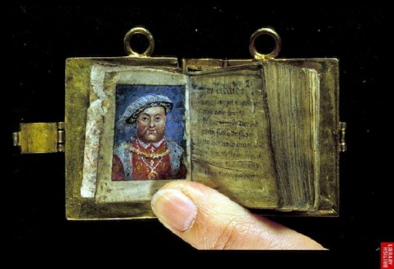 Золотой псалтырь Анны Болейн. Британская библиотека (British Library). | Фото: medievalfragments.wordpress.com.