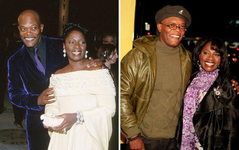 Сэмюэль Л. Джексон и Латания Ричардсон - 36 лет вместе голливуд, звезды, любовь, свадьбы, семьи