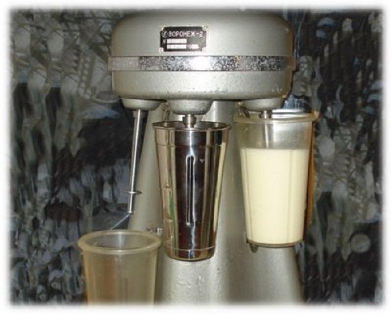 Молочный коктейль.