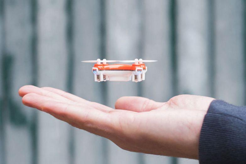 Микро-дроны умещаются в карман
