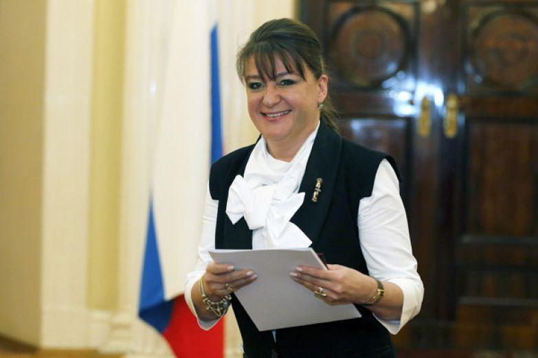 Анастасия Мельникова является депутатом Законодательного собрания Санкт-Петербурга