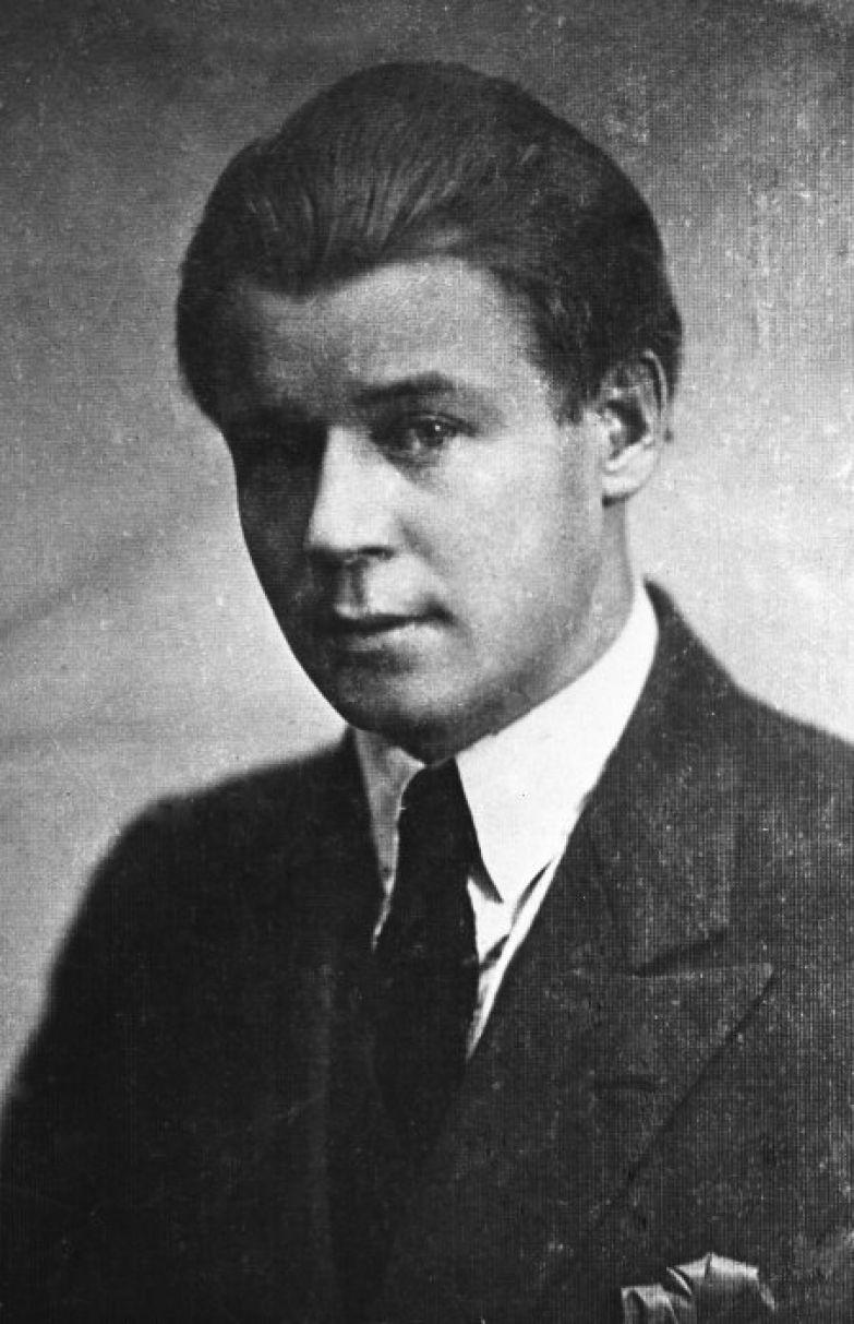 Сергей Александрович Есенин - за год до гибели. 1924 год.