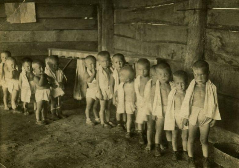 Условия содержания детей были плохими.