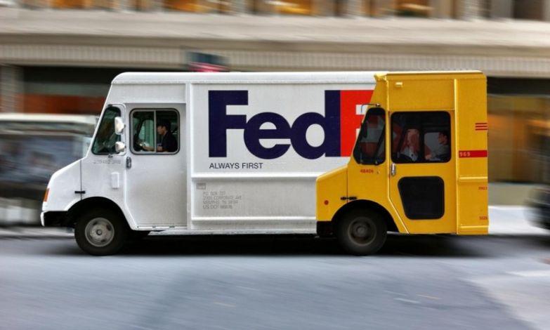 5. FedEx наглядно показывает, что их служба доставки всегда на шаг впереди интересно, креативная реклама, рекламные, трюки