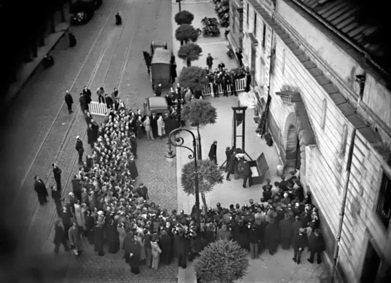 Последняя публичная казнь на Гильотине. Франция. 1939 год