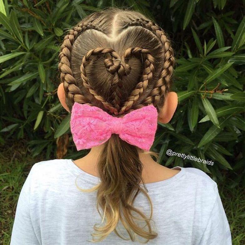 Конечно, такие прически всегда привлекают к Грейс внимание дочь, коса, мама, прическа